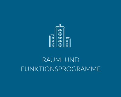 Raum- und Funktionsprogramme