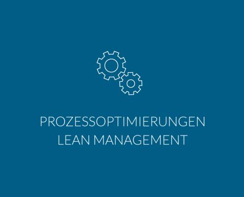 Prozessoptimierungen Lean Management